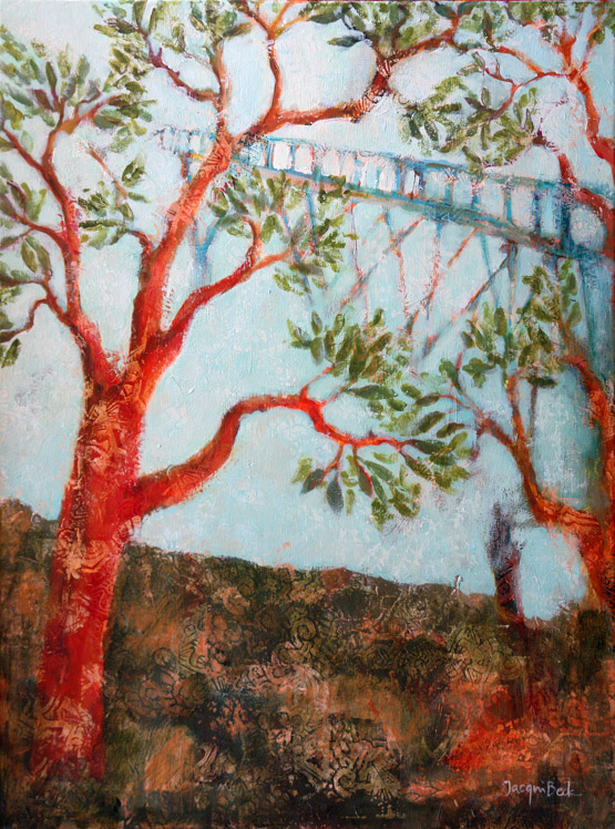"""""""Arbor Guardians,"""" by Jacqui Beck, inspired by Judy"""